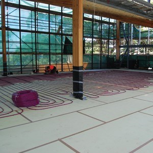 Foamular XPS insulation floor heating systems