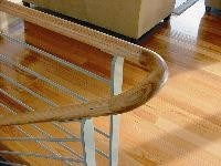Continuous timber handrail made easy