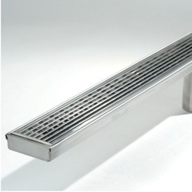 New stylish stainless steel drain
