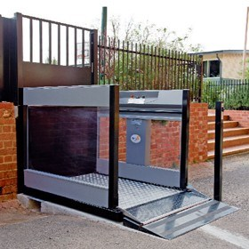 BCA Compliant Vertical Wheelchair Platform Lift