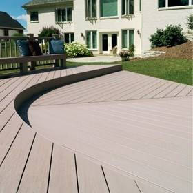 New bushfire resistant polymer decking from Timbertech