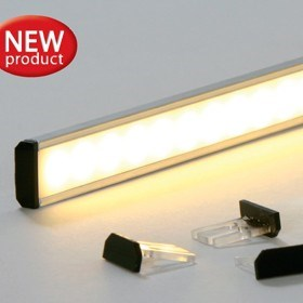 Linear LED lighting system by Superlight