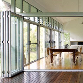 Folding doors for all with new Centor system