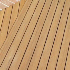 A decking solution that is kind to the environment
