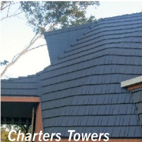 New metal roof and coating saves energy