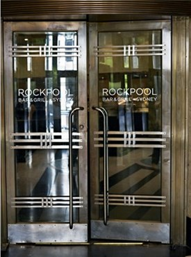 Rockpool's executive chef taps into reliable support