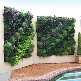 Green Walls Made Easy AND Self-Watering Garden Beds