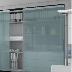 Hafele's new and trendy furniture sliding door solution