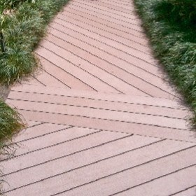 Wood Composite Decking and Slat Screen Fencing