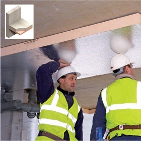 High Performance Soffit Insulation