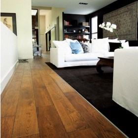 Unique French Oak flooring for high-end applications