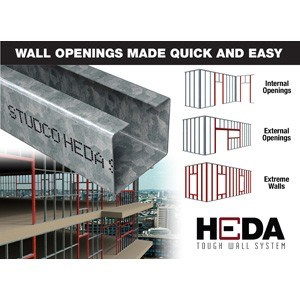 Heda Tough Wall System