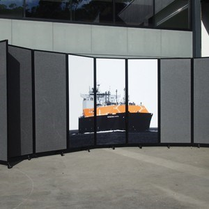 Mobile room dividers that help maximize the use of space