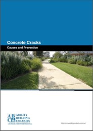 Concrete Cracks – Causes and Prevention
