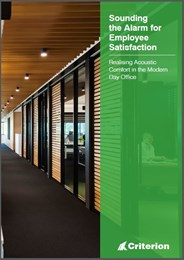 Realising Acoustic Comfort in the Modern Day Office [white paper]