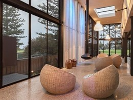 Crimsafe patio security screens improve energy efficiency for Central Coast house