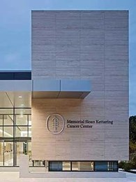 New York cancer centre features Durango Travertine honeycomb panels on facade