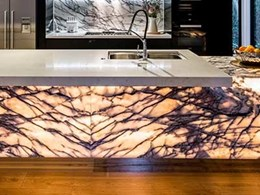 Award-winning designer uses Smartstone Amara on kitchen benchtop