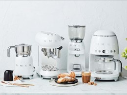 Wake up to the perfect brew with Smeg's coffee machines