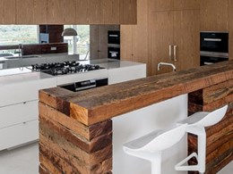 Miele appliances integrated into designer homes in Sydney