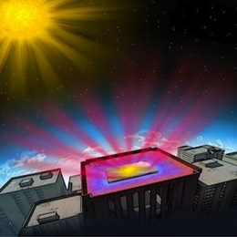 Stanford engineers invent ultrathin reflective coating to help passively cool buildings