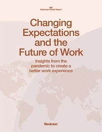 Steelcase Global Report; Changing Expectations and the Future of Work - Insights from the pandemic to create a better work experience.