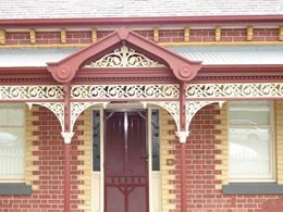 Adelaide lacework and balustrade designs continue to be popular in new properties