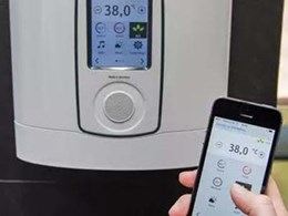 Stiebel's next gen instant water heater with Bluetooth and app operation