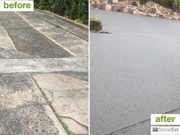 StoneSet's 3mm Koonunga paving