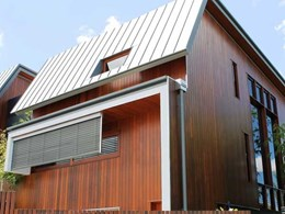 Western Red Cedar cladding adds appeal and weather protection to Dorchester Street dwellings