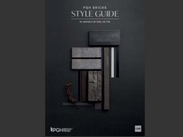 2019 PGH Bricks Styles Guide inspires with nine on-trend palettes