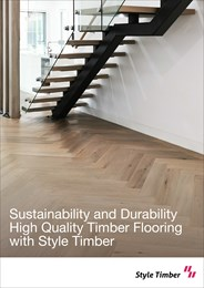 Sustainability and durability: High-quality timber flooring with Style Timber