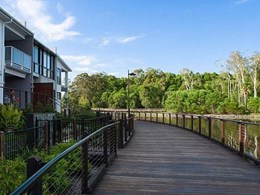 8km boardwalk at Maroochydore CBD waterfront development built using Big River timber