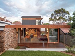 Sydney architects double thermal efficiency by 'Rearranging' home