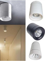 New surface mount LED lights for areas that cannot take recessed models