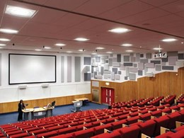 Lighting upgrade at University of Surrey lecture block delivers energy savings