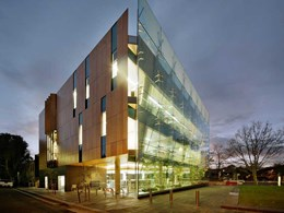 Transparency and sustainability emphasised with Prodema wood panels at Surry Hills Library
