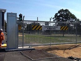 Magnetic installs heavy duty cantilever gates and pedestrian turnstile at oil and gas plant