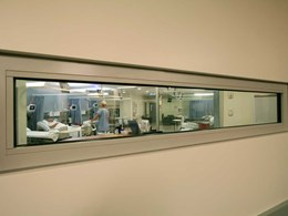 Forster Fuego insulated fire rated windows at Sutherland Hospital