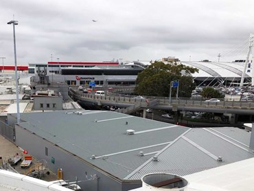 Sydney Airport's Domestic Terminal 2 expansion