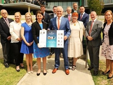 Western Sydney City Deal launch. Image: Supplied