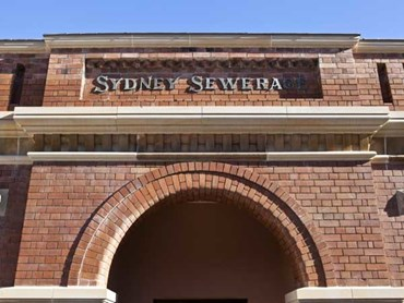 Sydney's No. 1 Sewerage Pumping Station. Photography by Emilio Cresciani