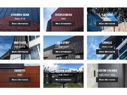 Simplifying sheet metal cladding selection for your project