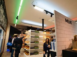 Coloured LED uplights boost German supermarket sales in pilot study