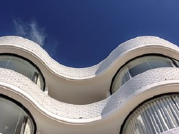 BCG curved glass goes with the flow on Bondi Beach apartment façade