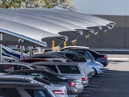 Miami Stainless products feature in Browns Plains carpark shade structure