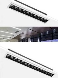 BoscoLighting adds Tetris linear wall washer downlights to shop lighting range