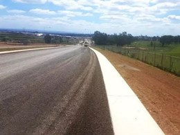 Road construction fast-tracked with Texo's fibre reinforced concrete