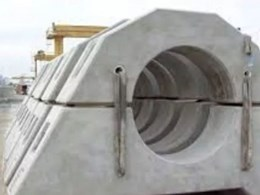 Texo's polymer fibre eliminates steel reinforcing in precast concrete