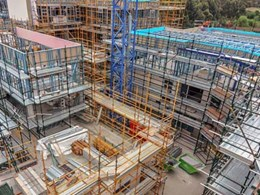 Light gauge steel framing replaces timber and steel design at Clarindale Apartments
